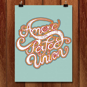"Amore Perfect Union by Shane Hendserson 18"" by 24"" Print / Unframed Print A More Perfect Union"