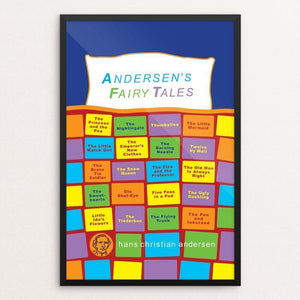 "Andersen's Fairy Tales by Robert Wallman 12"" by 18"" Print / Framed Print Recovering the Classics"