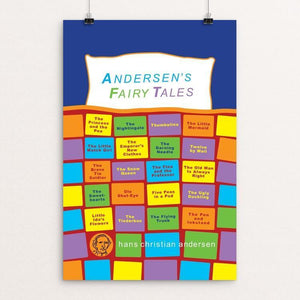 "Andersen's Fairy Tales by Robert Wallman 12"" by 18"" Print / Unframed Print Recovering the Classics"