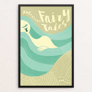 "Andersen's Fairy Tales by Roberto Lanznaster 12"" by 18"" Print / Framed Print Recovering the Classics"