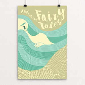 "Andersen's Fairy Tales by Roberto Lanznaster 12"" by 18"" Print / Unframed Print Recovering the Classics"