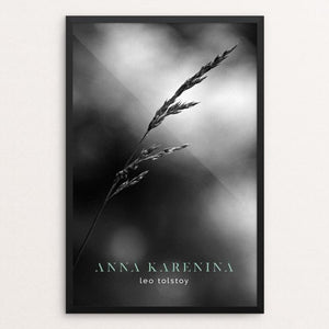 "Anna Karenina by Nick Fairbank 12"" by 18"" Print / Framed Print Recovering the Classics"