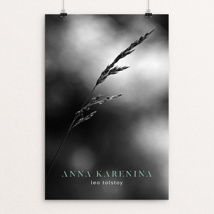 "Anna Karenina by Nick Fairbank 12"" by 18"" Print / Unframed Print Recovering the Classics"