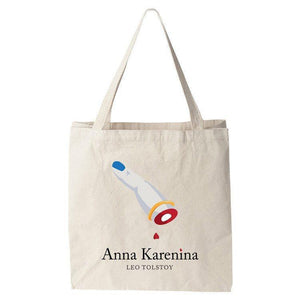 Anna Karenina Tote Bag by Anna Tulchinskaya Tote Bag Recovering the Classics