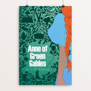 "Anne of Green Gables 2 by Coral Nafziger 12"" by 18"" Print / Unframed Print Recovering the Classics"