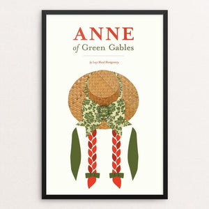 "Anne of Green Gables by Amy Compeau 12"" by 18"" Print / Framed Print Recovering the Classics"
