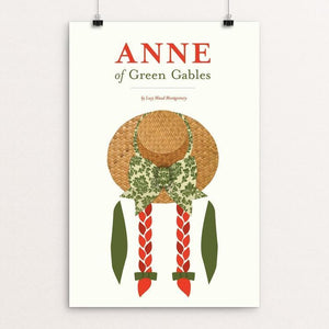 "Anne of Green Gables by Amy Compeau 12"" by 18"" Print / Unframed Print Recovering the Classics"