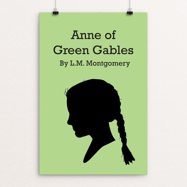 "Anne of Green Gables by Jessica Madden 12"" by 18"" Print / Unframed Print Recovering the Classics"