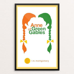 "Anne of Green Gables by Robert Wallman 12"" by 18"" Print / Framed Print Recovering the Classics"