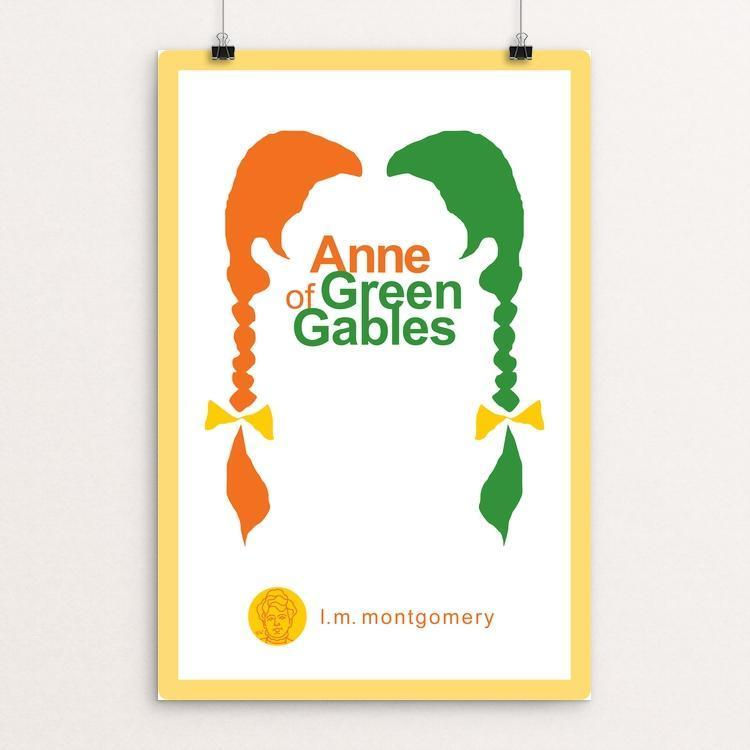 "Anne of Green Gables by Robert Wallman 12"" by 18"" Print / Unframed Print Recovering the Classics"