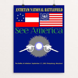 "Antietam National Battlefield by Bob Rubin 12"" by 16"" Print / Unframed Print See America"