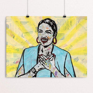 AOC for the win by Amy Smith Print Creative Action Network