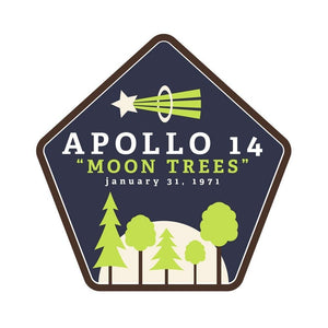 "Apollo 14 ""Moon Trees"" by Kailee McMurran, Design by Goats"