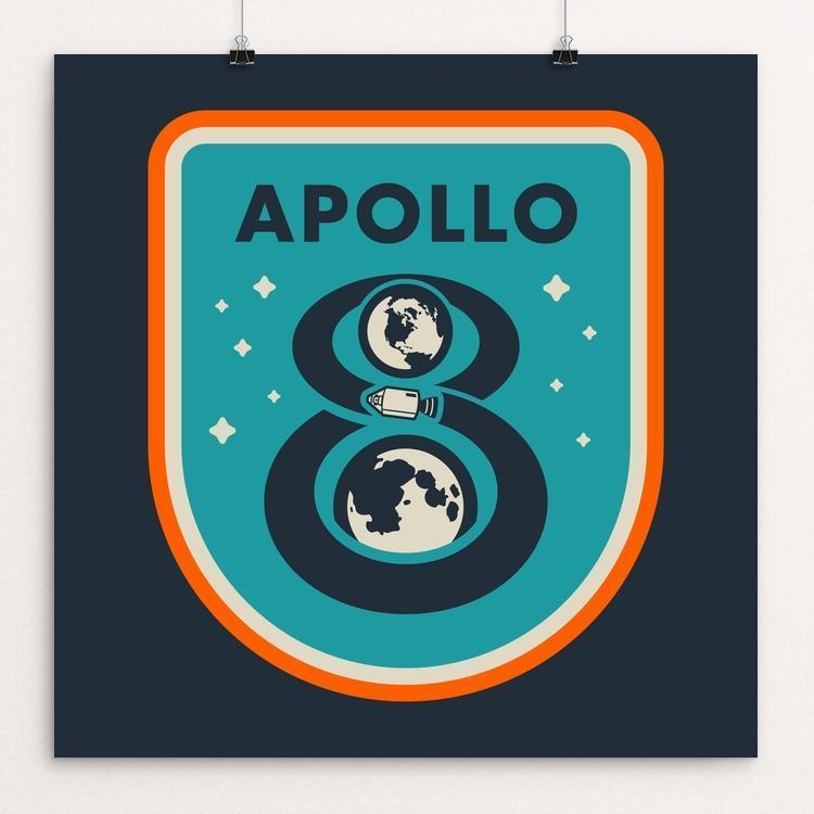 Apollo 8 by Brian Folchetti