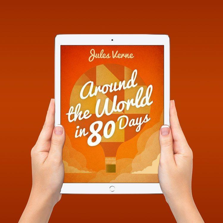 Around the World in 80 Days Ebook by Marcos Arevalo