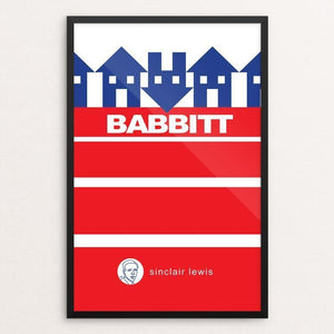 "Babbitt by Robert Wallman 12"" by 18"" Print / Framed Print Recovering the Classics"