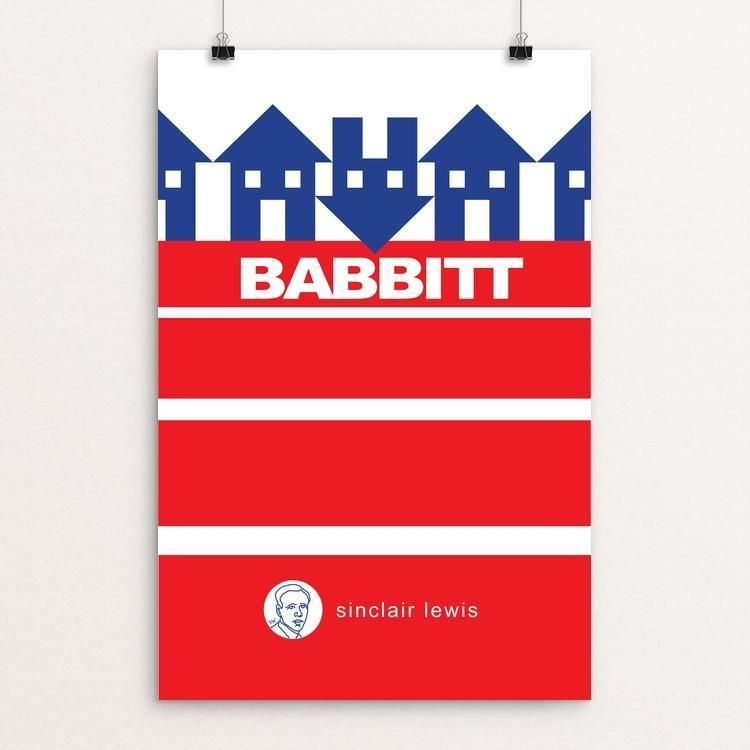 "Babbitt by Robert Wallman 12"" by 18"" Print / Unframed Print Recovering the Classics"