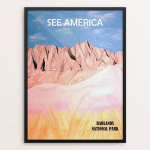 "Badlands National Park by Bryan Bromstrup 12"" by 16"" Print / Framed Print See America"