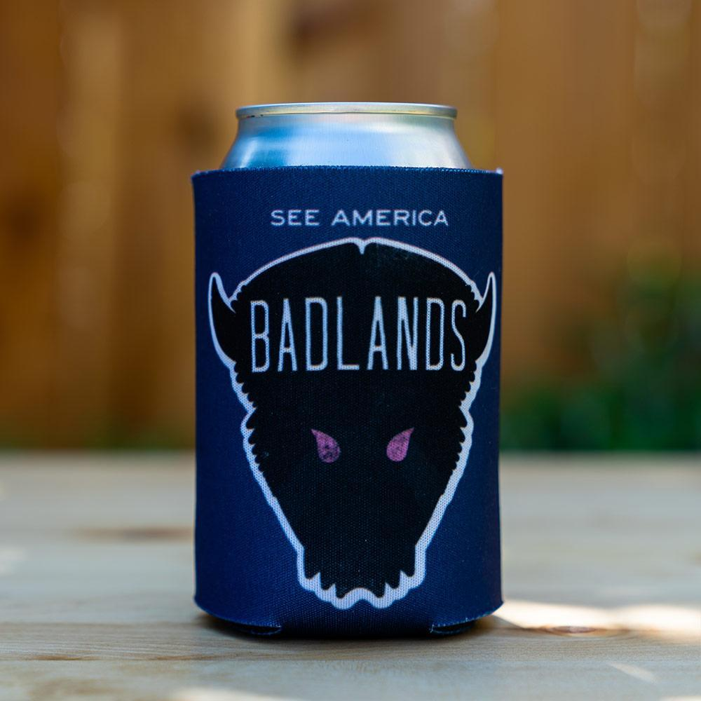 Badlands National Park Koozie by Matt Brass