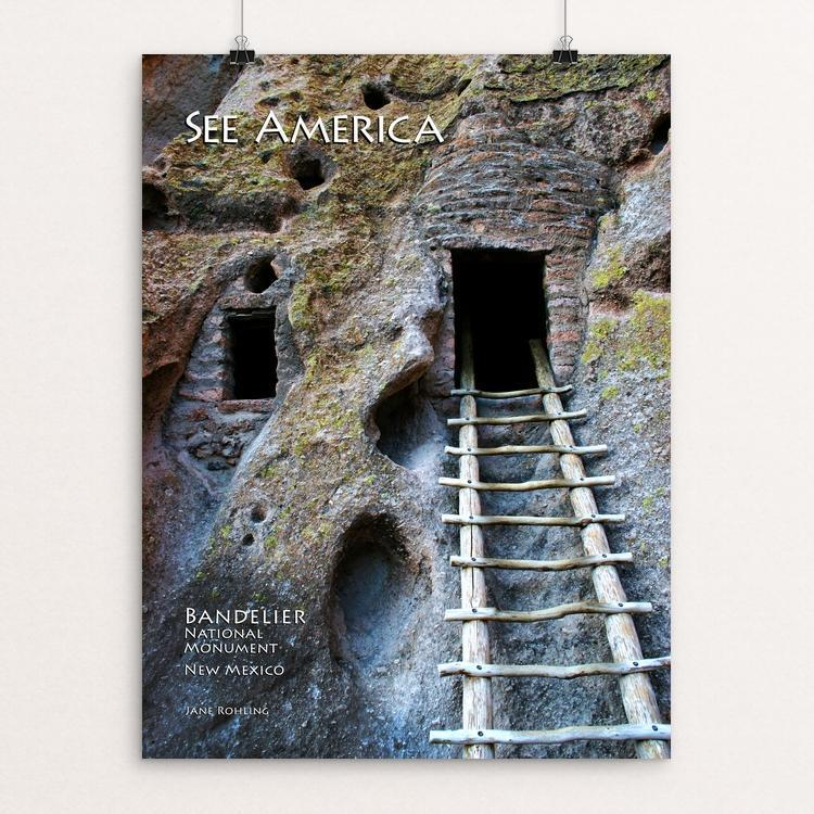 Bandelier National Monument 2 by Jane Rohling