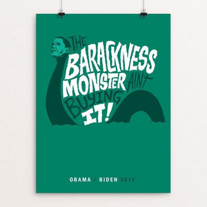 Barackness Monster by Chris Piascik