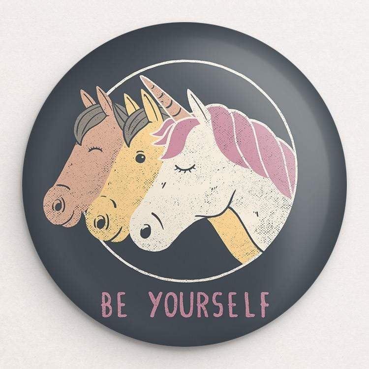 Be Yourself Button by Tobias Fonseca 1 Pack Buttons Creative Action Network