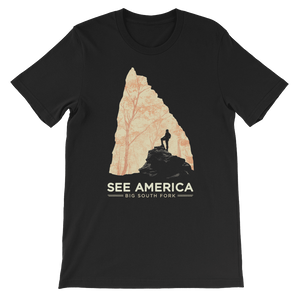 Big South Fork National River and Recreation Area T-Shirt by Jon Cain