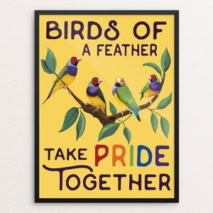 Birds of a feather take pride together! by Brooke Fischer