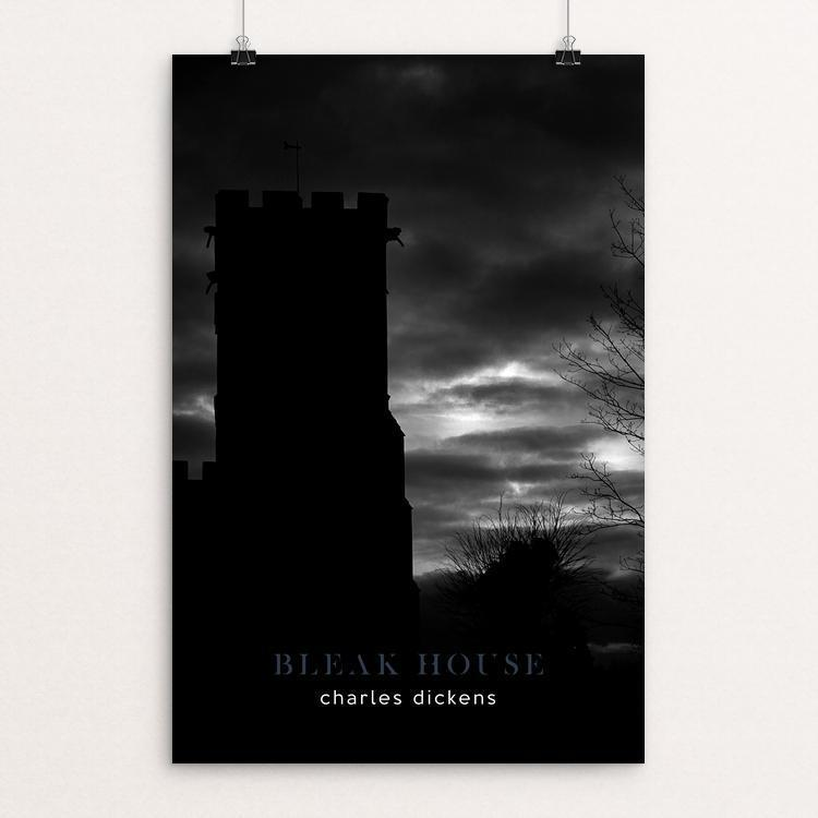 "Bleak House by Nick Fairbank 12"" by 18"" Print / Unframed Print Recovering the Classics"