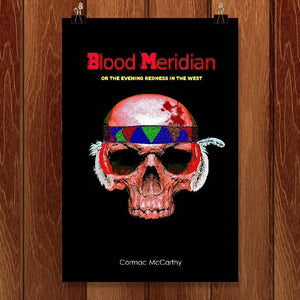 "Blood Meridian by Bob Rubin 12"" by 18"" Print / Unframed Print Recovering the Classics"