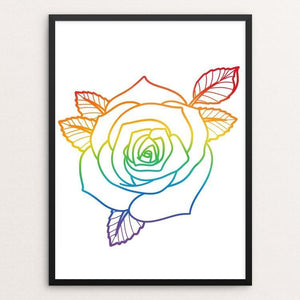 "Blooming in Adversity by Andrew Martin 12"" by 16"" Print / Framed Print Creative Action Network"