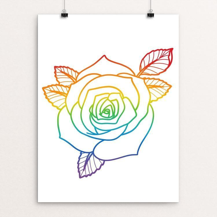 "Blooming in Adversity by Andrew Martin 12"" by 16"" Print / Unframed Print Creative Action Network"