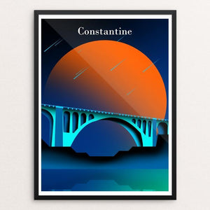"Bridges of the ancient city of Constantine by oussama senhadji 18"" by 24"" Print / Framed Print Creative Action Network"