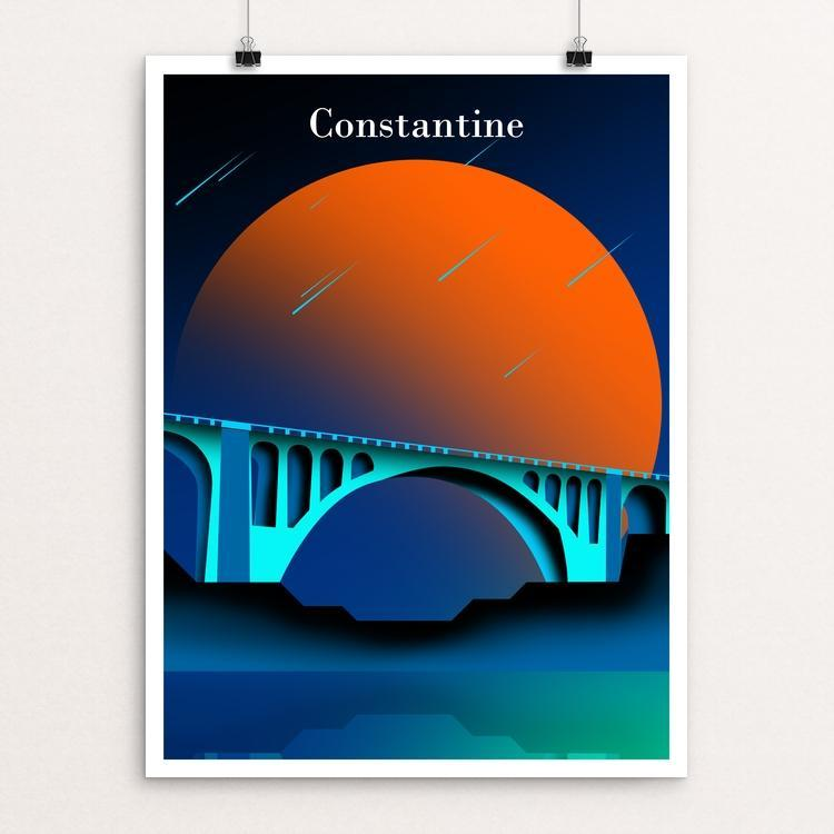 "Bridges of the ancient city of Constantine by oussama senhadji 18"" by 24"" Print / Unframed Print Creative Action Network"