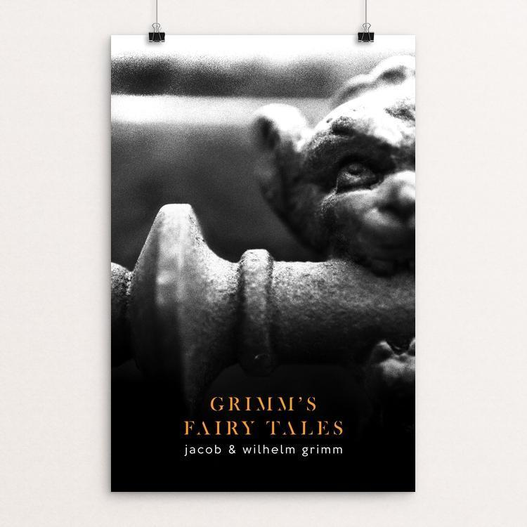 "Brothers Grimm by Nick Fairbank 12"" by 18"" Print / Unframed Print Recovering the Classics"
