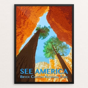 "Bryce Canyon National Park by Zack Frank 12"" by 16"" Print / Framed Print See America"