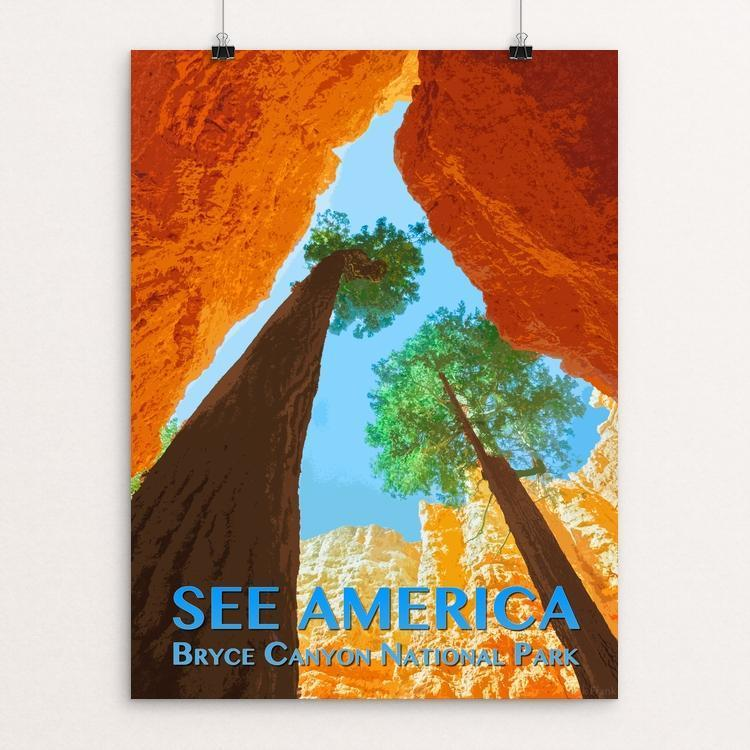 "Bryce Canyon National Park by Zack Frank 12"" by 16"" Print / Unframed Print See America"