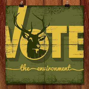 Buck the Vote, Save the Environment by Scott Jesko