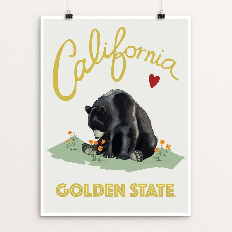 Cali Love - Golden State Bear by Brooke Fischer
