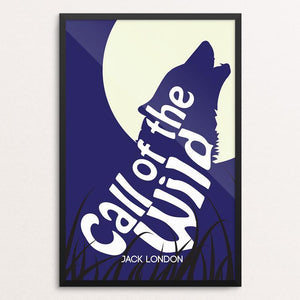 "Call of the Wild by E. Michelle Peterson 12"" by 18"" Print / Framed Print Recovering the Classics"