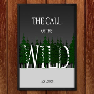 "Call of the Wild by J.R.J. Sweeney 12"" by 18"" Print / Framed Print Recovering the Classics"