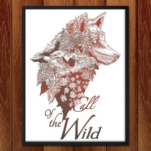 "Call of the Wild by Jessica Good 12"" by 16"" Print / Framed Print Join the Pack"