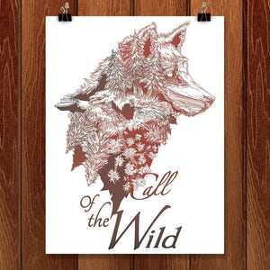 "Call of the Wild by Jessica Good 12"" by 16"" Print / Unframed Print Join the Pack"