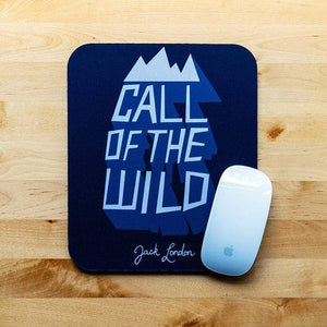 Call of the Wild Mousepad by Michael van Kekem 7.79x9.25 inch Mousepad Recovering the Classics