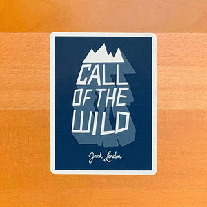 Call of the Wild Sticker by Michael van Kekem Stickers Recovering the Classics