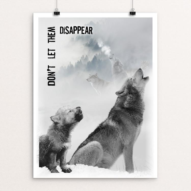 "Calling for Help by Harley Armentrout 12"" by 16"" Print / Unframed Print Join the Pack"