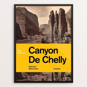 "Canyon de Chelly National Monument by Brandon Kish 12"" by 16"" Print / Framed Print See America"