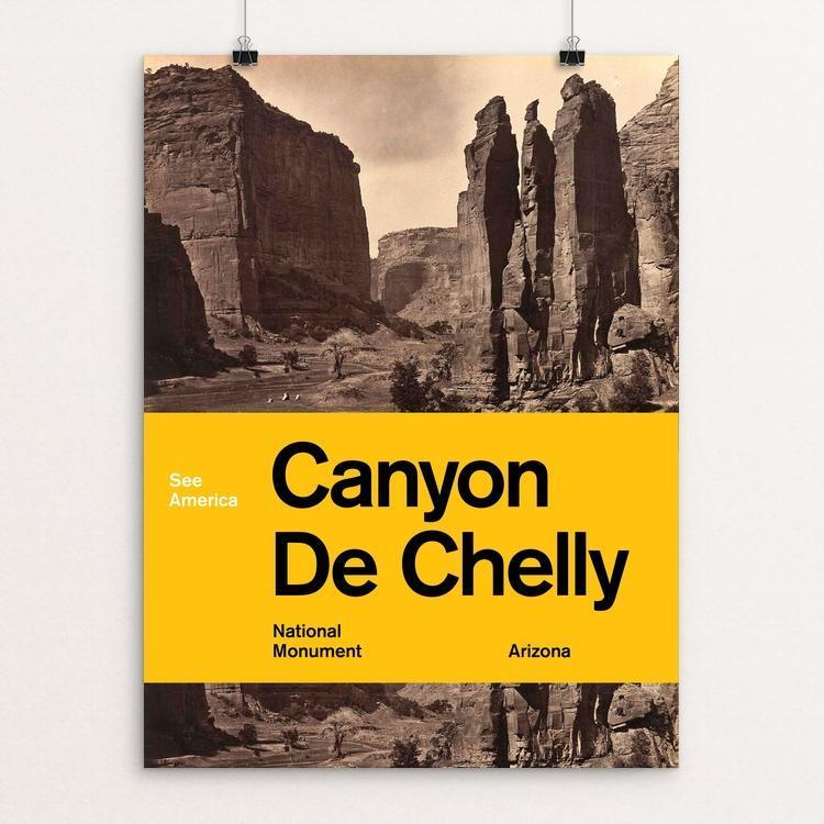 "Canyon de Chelly National Monument by Brandon Kish 12"" by 16"" Print / Unframed Print See America"