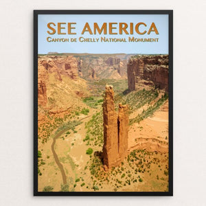 "Canyon de Chelly National Monument by Zack Frank 12"" by 16"" Print / Framed Print See America"