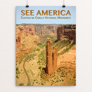 "Canyon de Chelly National Monument by Zack Frank 12"" by 16"" Print / Unframed Print See America"